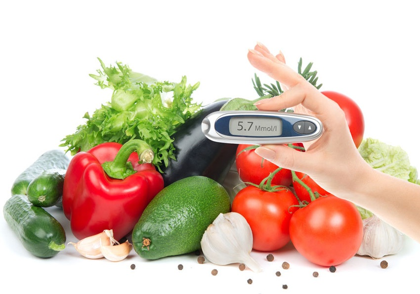 Cukorbeteg étrend alapjai, mintaétrenddel