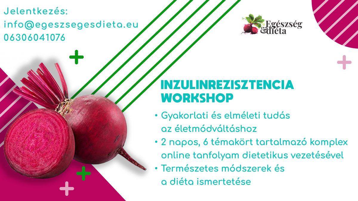 Inzulinrezisztencia online workshop